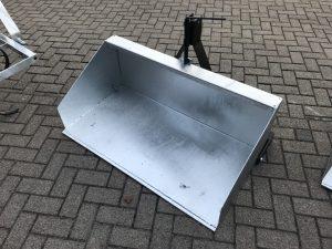 grondbak 120cm verzinkt
