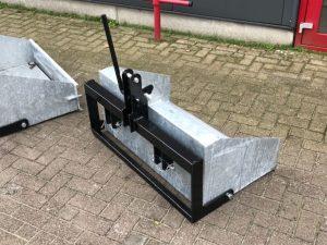 Grondbak 100cm nieuw verzinkt