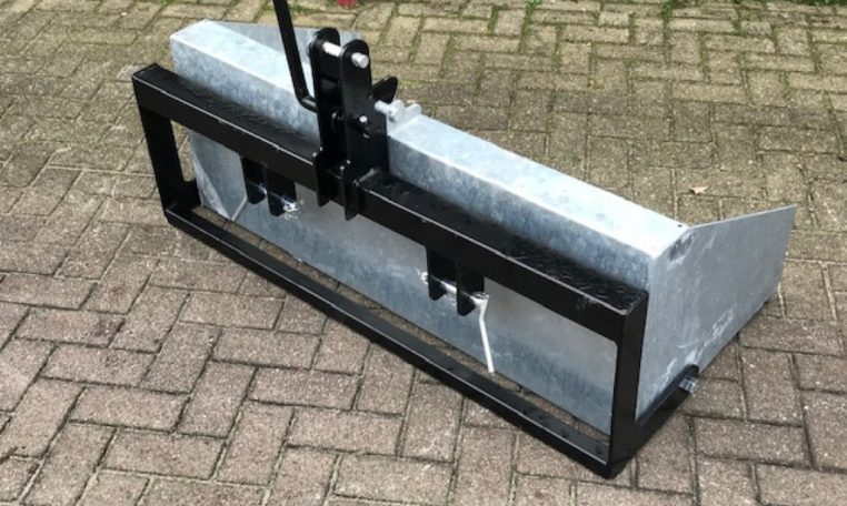 grondbak 120cm minitractor