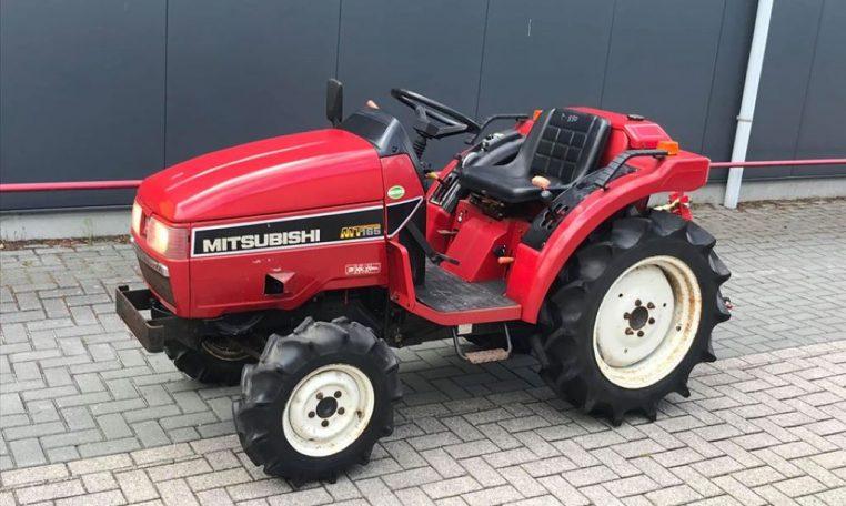 Mitsubishi MT165 4x4 minitractor