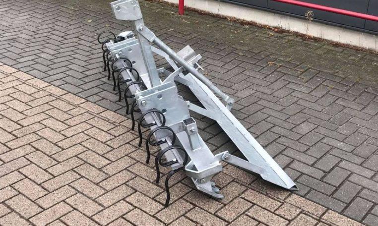 Bodemvlakker / Manegevlakker 200cm nieuw verzinkt
