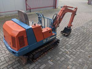 Kubota KH-012 minikraan
