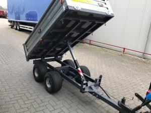 kipper 2,5 ton tandemas nieuw verzinkt