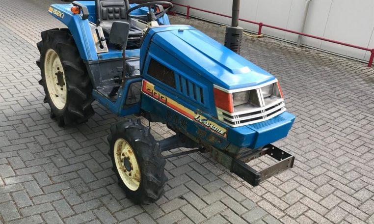 Iseki TU200 4x4 minitractor compacttractor miditractor 4wd