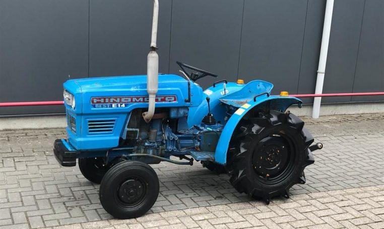 Hinomoto E14 minitractor 2wd (1)