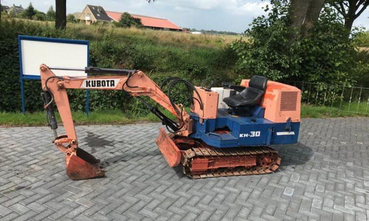 Kubota KH30 Minigraver (2)